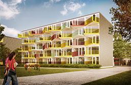Loftgångshus SHS bostadsprototyp 1.0-liten