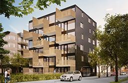 Punkthus SHS bostadsprototyp 1.0-liten