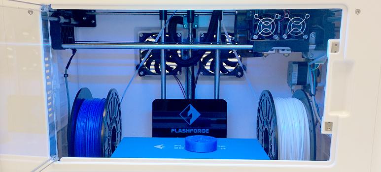 3D-skrivare i Smart Housing Smålands prototypverkstad