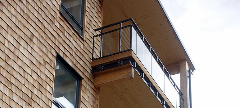 flervånings trähus