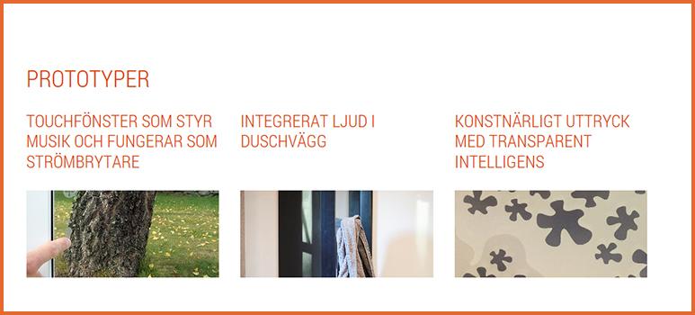 Smart Housing Smålands prototypgalleri