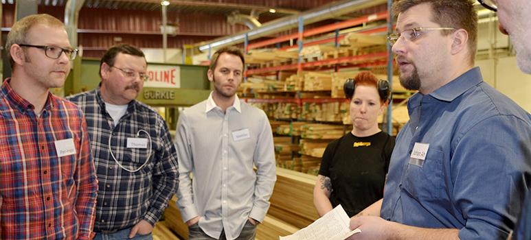 Medarbetare på Dörr & Portbolaget som engagerade sig i Hoshin-projektet